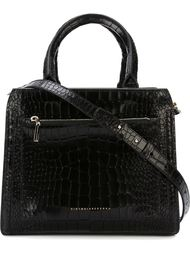 medium textured handbag Victoria Beckham