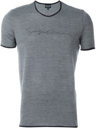 футболка с круглым вырезом  Giorgio Armani