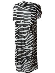 zebra print day dress Junya Watanabe Comme Des Garçons