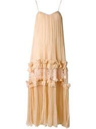 pleated evening dress Maria Lucia Hohan