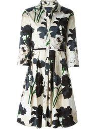 flower print shirt dress Samantha Sung
