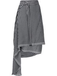 асимметричная юбка 'Lea' Preen By Thornton Bregazzi