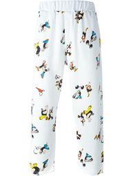 укороченные брюки с принтом 'Popeye' Lc23