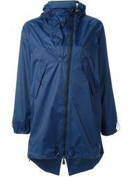 asymmetric zip parka jacket Sàpopa
