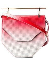 metallic handle shoulder bag M2malletier