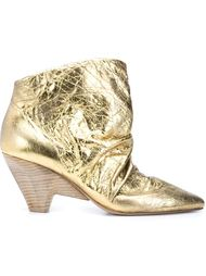 ботинки по щиколотку с потертой отделкой Marsèll