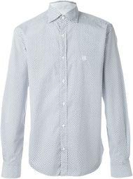 рубашка с принтом Corneliani