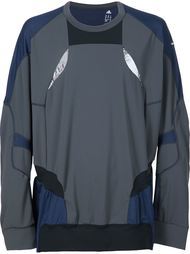 Kolor x Adidas panelled sweatshirt Adidas