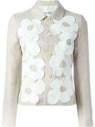 куртка с цветочной аппликацией Comme Des Garçons Comme Des Garçons