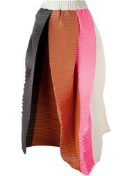 плиссированная юбка колор-блок 'Salsa' Sofie D'hoore