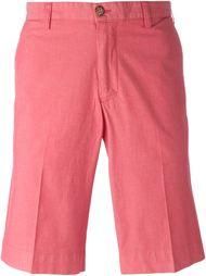 pleated chino shorts Canali