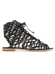 strappy flat sandals Sophia Webster