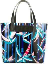 сумка-тоут с графическим принтом MSGM