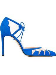 туфли с прозрачными панелями Bionda Castana