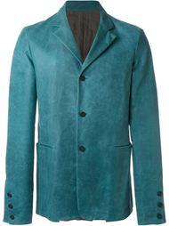 classic buttoned blazer Ma+
