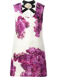 платье шифт с цветочным принтом   Daniele Carlotta