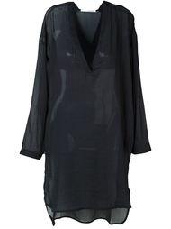 платье шифт с V-образным вырезом Isabel Benenato
