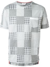patchwork T-shirt Thom Browne