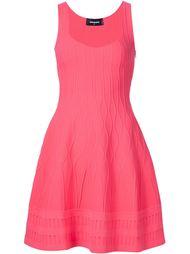 трикотажное платье с расклешенной юбкой Dsquared2