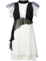 layered pleated dress Daniele Carlotta