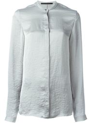 concealed button shirt Haider Ackermann