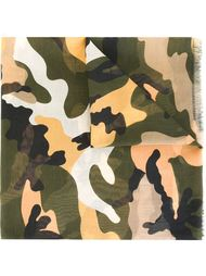 camouflage scarf Valentino