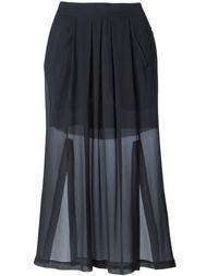 юбка с панельным дизайном Isabel Benenato