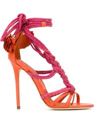 braided strings high sandals Brian Atwood