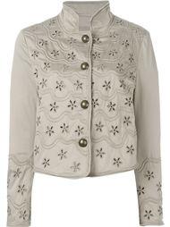 куртка с цветочным узором  Ermanno Scervino