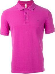 distressed polo shirt Sun 68