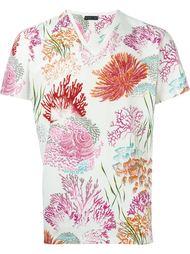 футболка с принтом кораллов Etro