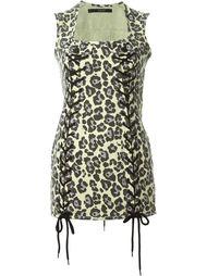 leopard print mini dress Sibling