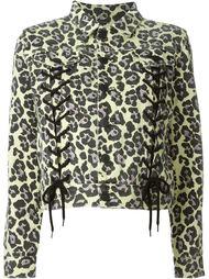 leopard print jacket Sibling