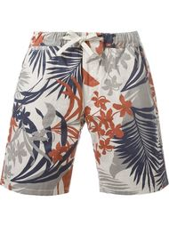 tropical print shorts Eleventy
