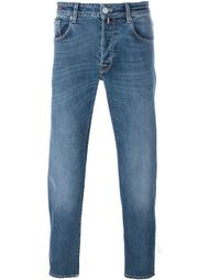 medium wash straight jeans Pt05