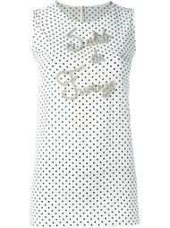 embellished tank top Dolce & Gabbana