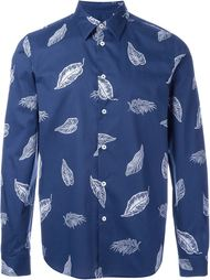 feather print shirt PS Paul Smith