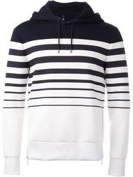 striped hoodie Neil Barrett