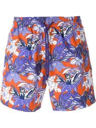 bird print swim shorts Vilebrequin