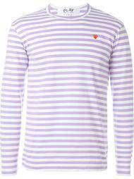 striped sweatshirt Comme Des Garçons Play