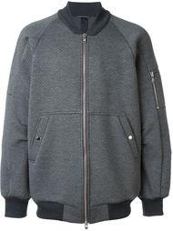 reversible scuba bomber jacket  Odeur