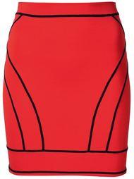мини-юбка на молнии сзади Dsquared2