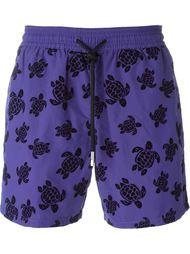 turtle print swim shorts Vilebrequin