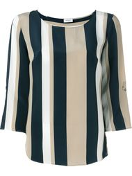 striped relaxed fit blouse Akris Punto