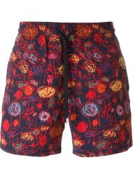 sketch print swim shorts Vilebrequin