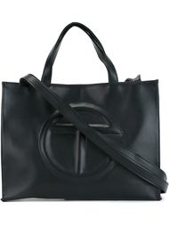 logo embossed medium bag Telfar