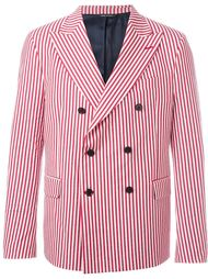 candy stripe double breasted blazer Lc23