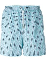 dotted print swim shorts Kiton