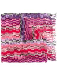 fringed scarf Missoni