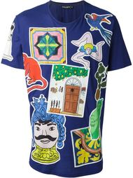 collage print T-shirt Dolce & Gabbana